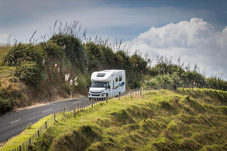 Motorhome road trip New Zealand