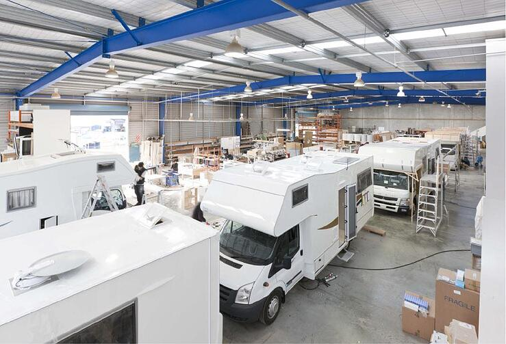 TrailLite factory motorhome builder