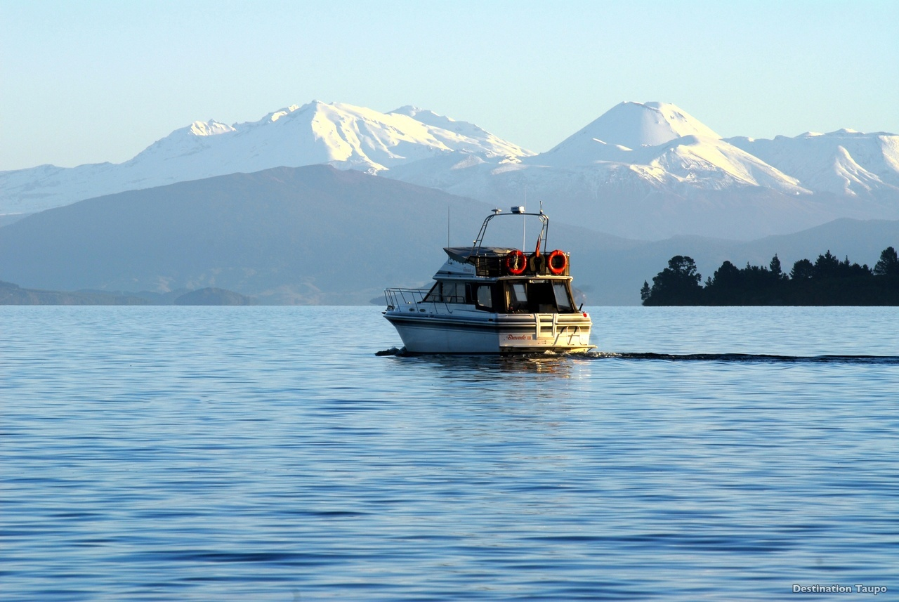 Lake Taupo as a motorhome destination