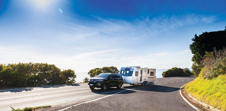 Caravan rangefinder