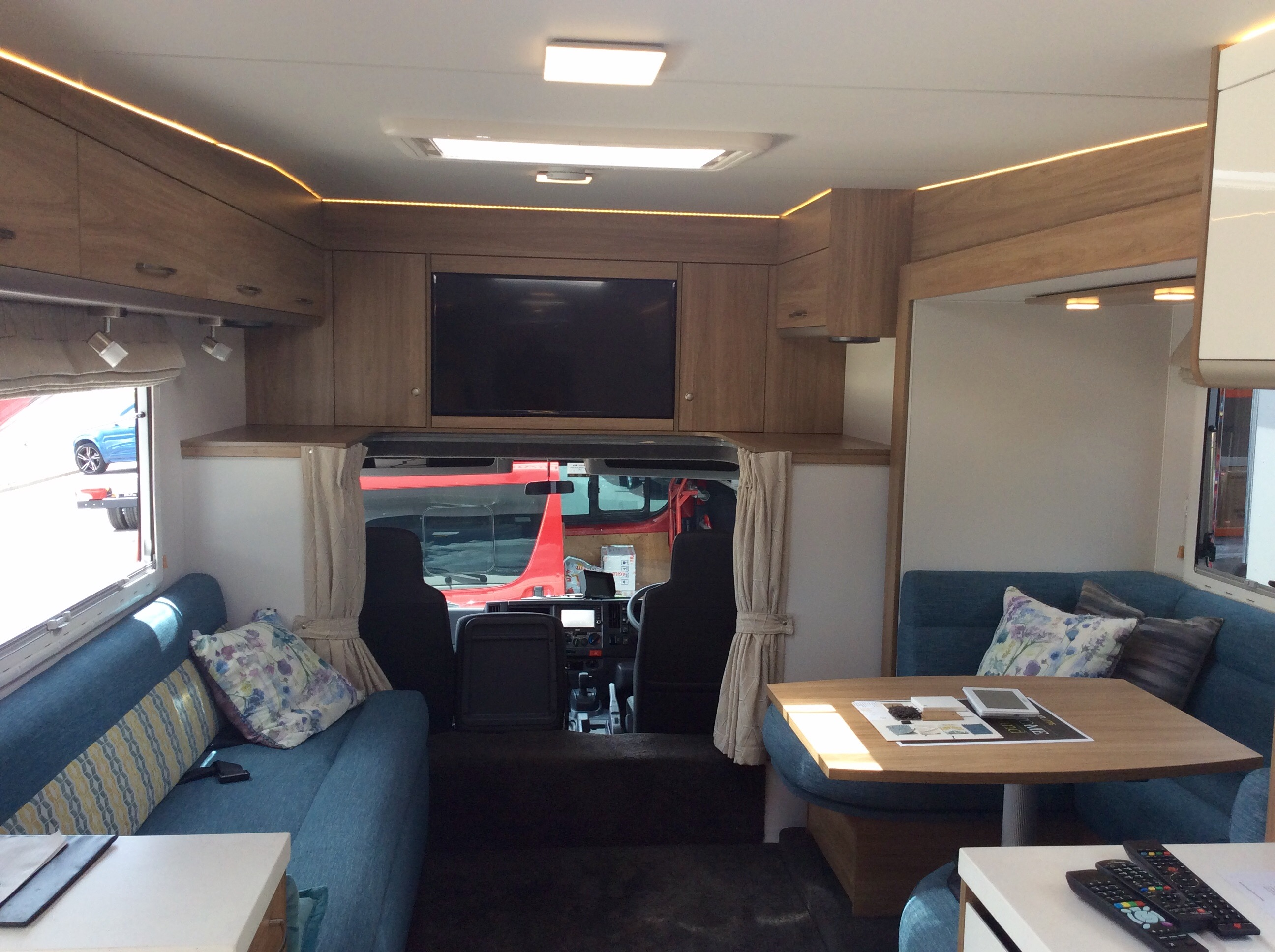 Motorhome with Slideout