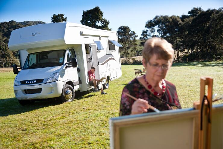 Motorhoming in retirement
