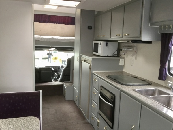Photos of the Carters 'old' motorhome