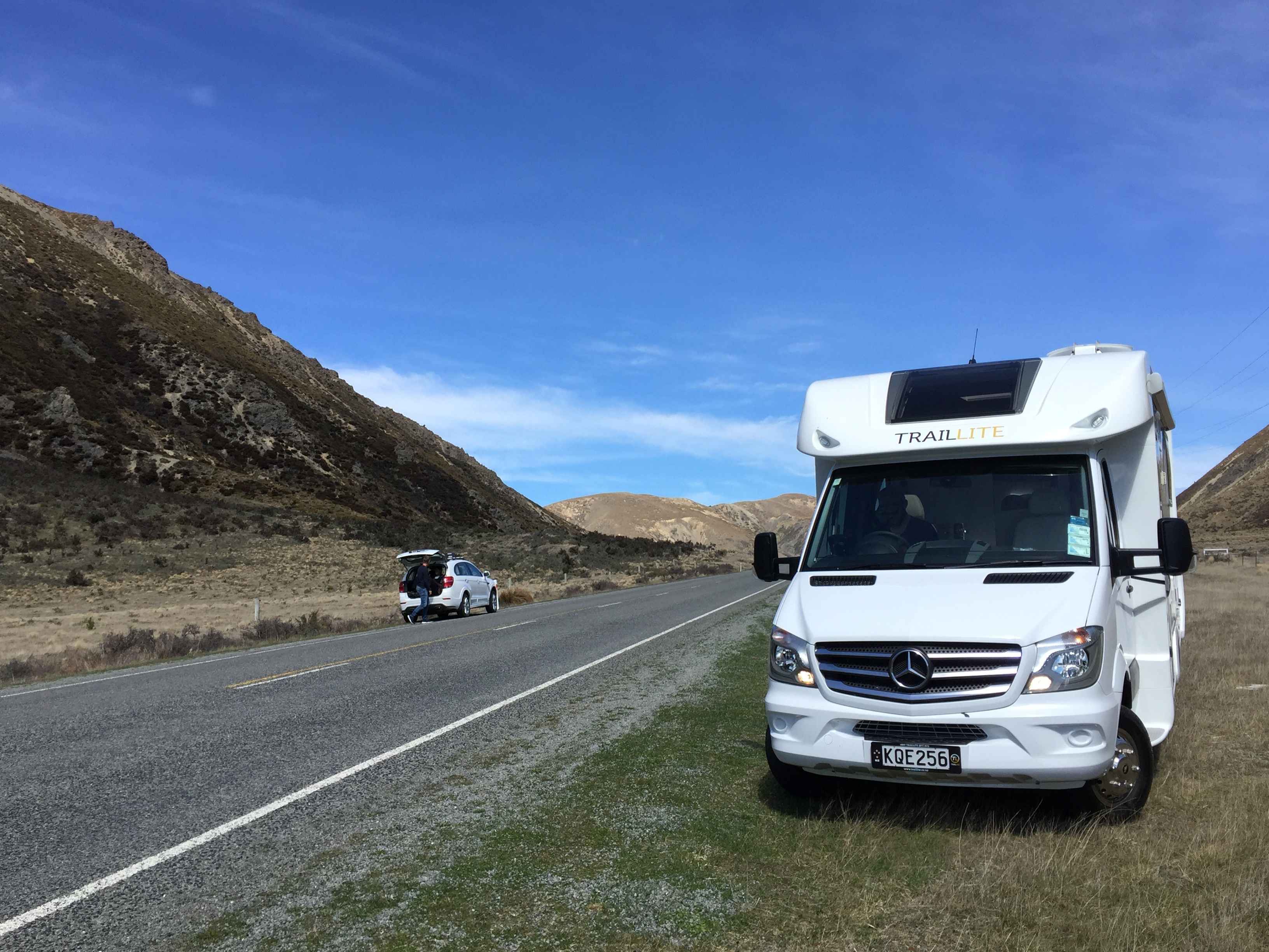 A motorhome or caravan trip from Christchurch to Greymouth