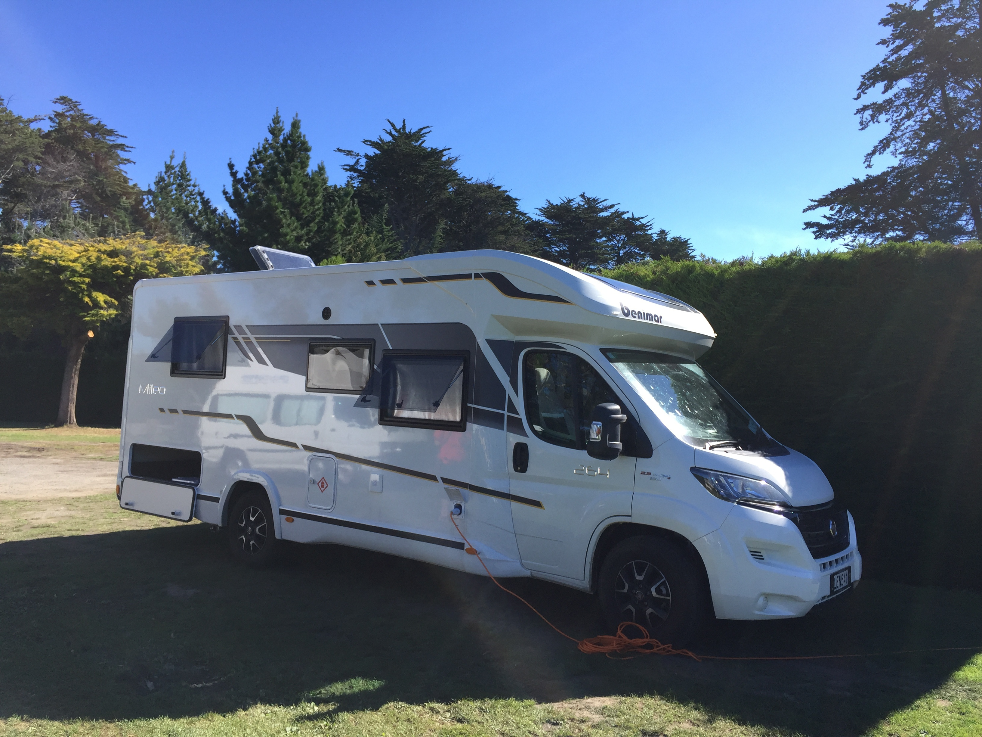 Places you can camp in your motorhome