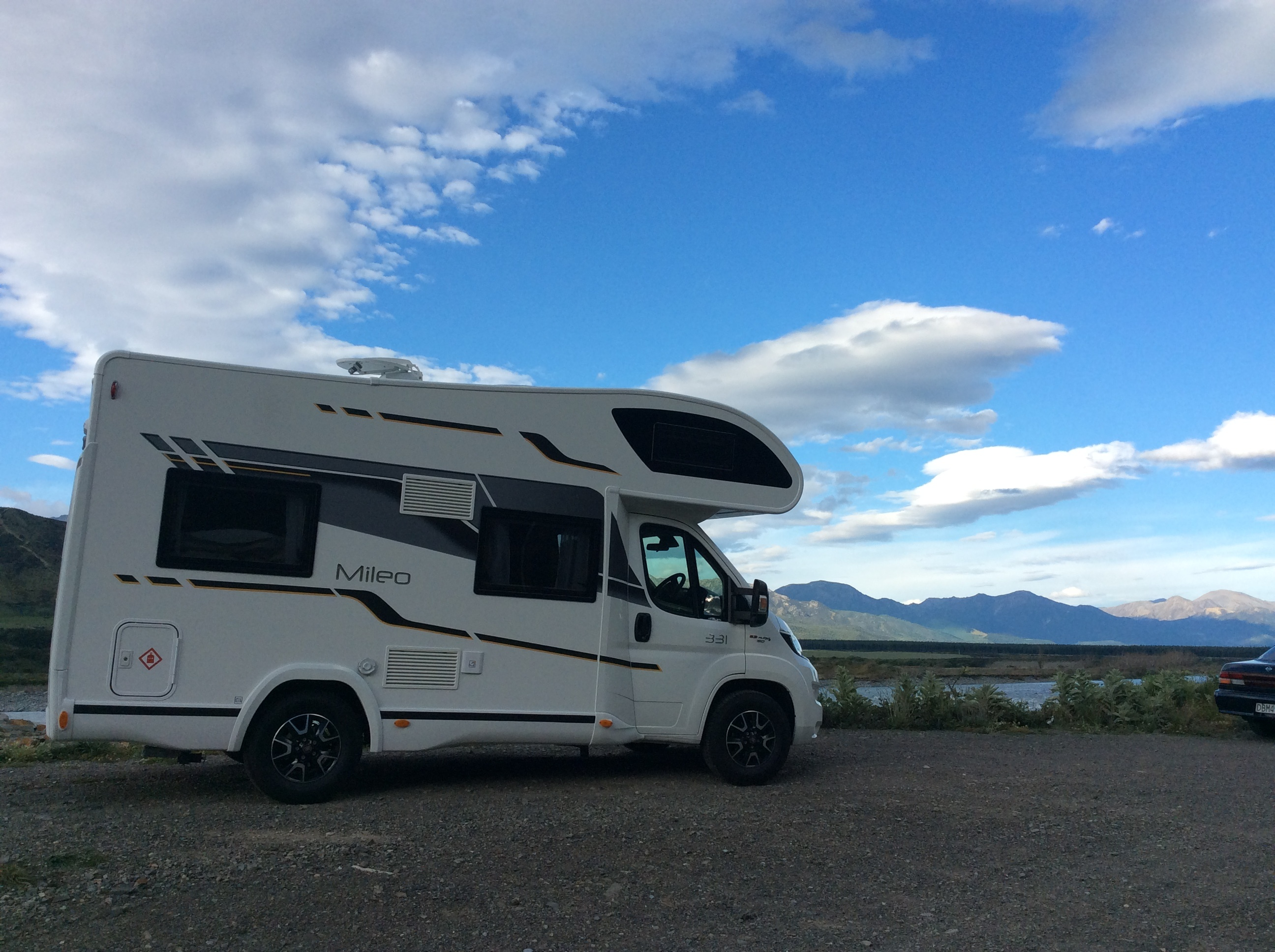 RV vs campervan vs motorhome
