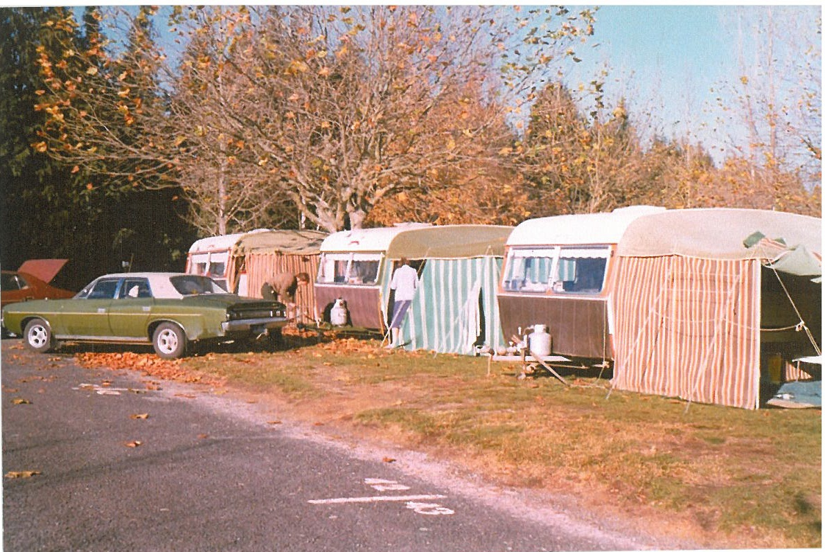 Places you can camp in your caravan