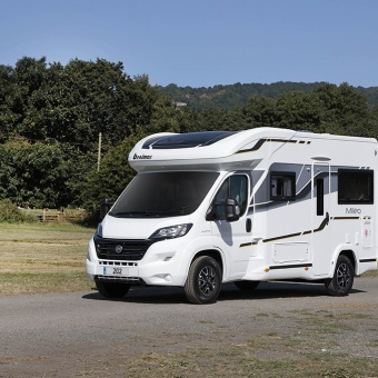 Get in quick with the new look Benimar motorhome