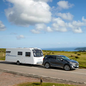 Tips on towing a caravan